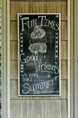 Summer Chalkboard Art 58