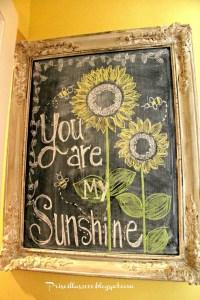 Summer Chalkboard Art 63