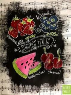 Summer Chalkboard Art 82