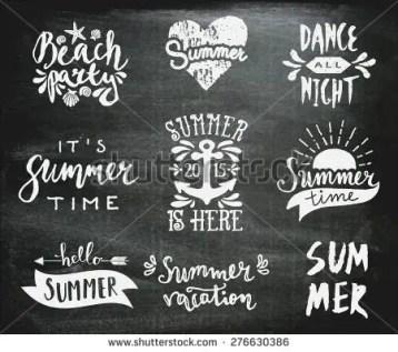 Summer Chalkboard Art 85