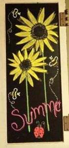 Summer Chalkboard Art 91