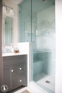 Tiny Master Bathroom 124