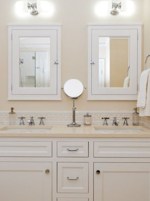 Tiny Master Bathroom 128