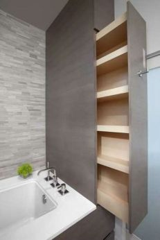 Tiny Master Bathroom 129