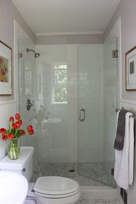 Tiny Master Bathroom 133