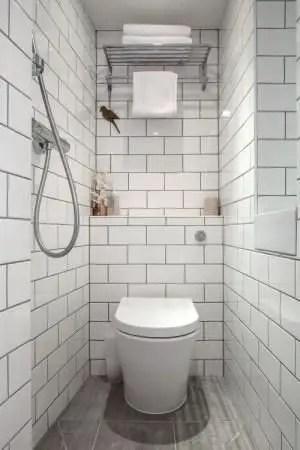 Tiny Master Bathroom 142