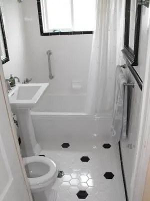 Tiny Master Bathroom 143