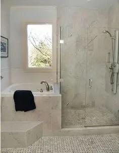 Tiny Master Bathroom 146