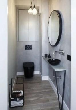 Tiny Master Bathroom 154