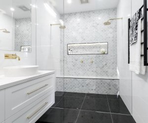 Tiny Master Bathroom 35