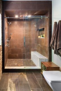 Tiny Master Bathroom 44