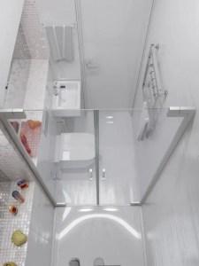 Tiny Master Bathroom 91