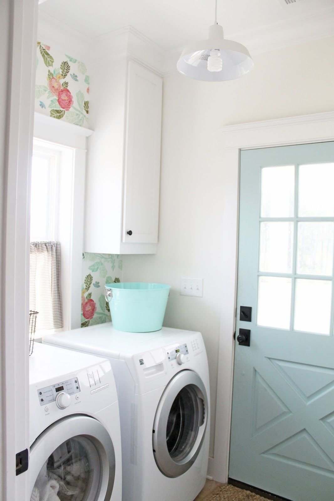 Pastel Laundry Room