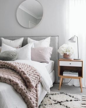 White And Pastel Bedroom 129
