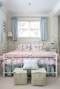 White And Pastel Bedroom 134