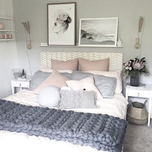 White And Pastel Bedroom 146