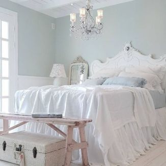 White And Pastel Bedroom 147