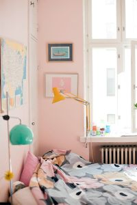 White And Pastel Bedroom 17