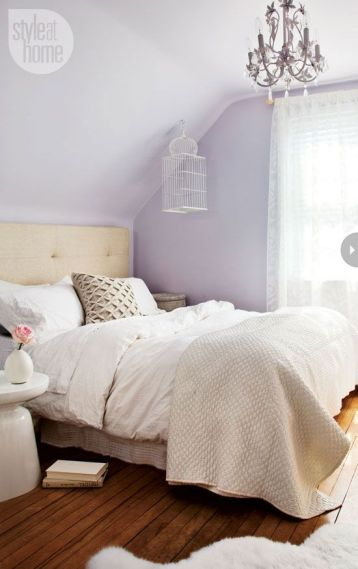 White And Pastel Bedroom 178