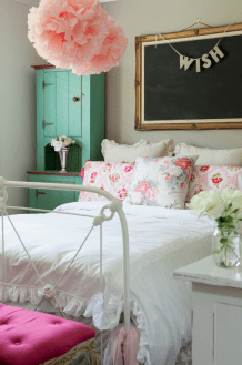 White And Pastel Bedroom 22