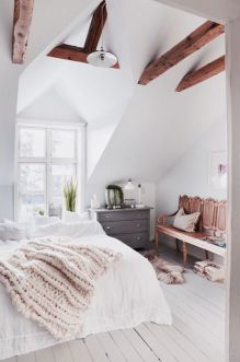 White And Pastel Bedroom 23