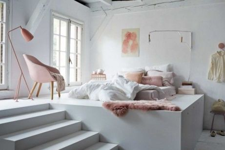 White And Pastel Bedroom 6