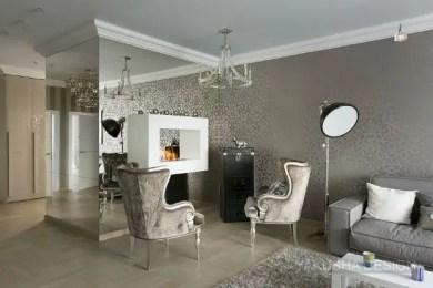 Elegant Contemporary Living Room 10
