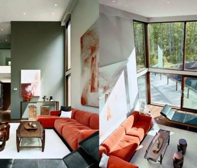 Elegant Contemporary Living Room 12