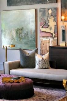 Elegant Contemporary Living Room 18