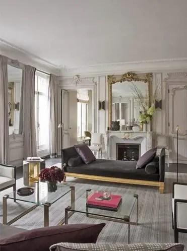 Elegant Contemporary Living Room 21