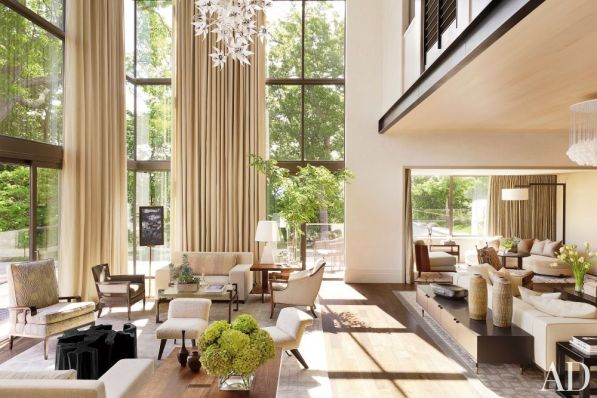Elegant Contemporary Living Room 25