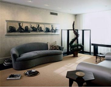 Elegant Contemporary Living Room 26
