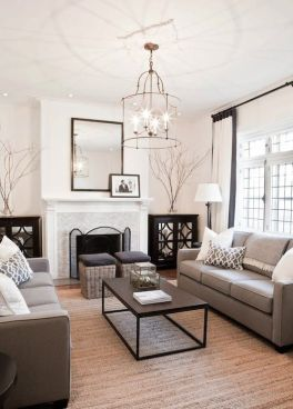 Elegant Contemporary Living Room 33