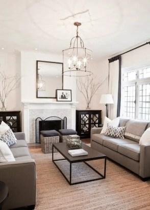 Elegant Contemporary Living Room 33