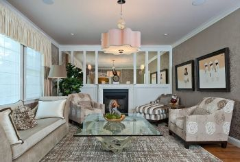 Elegant Contemporary Living Room 35