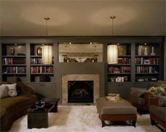 Elegant Contemporary Living Room 39