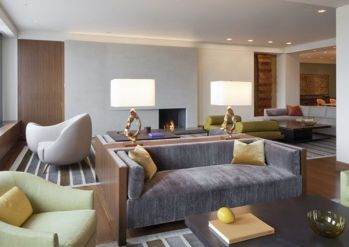 Elegant Contemporary Living Room 43