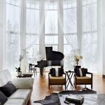 Elegant Contemporary Living Room 54