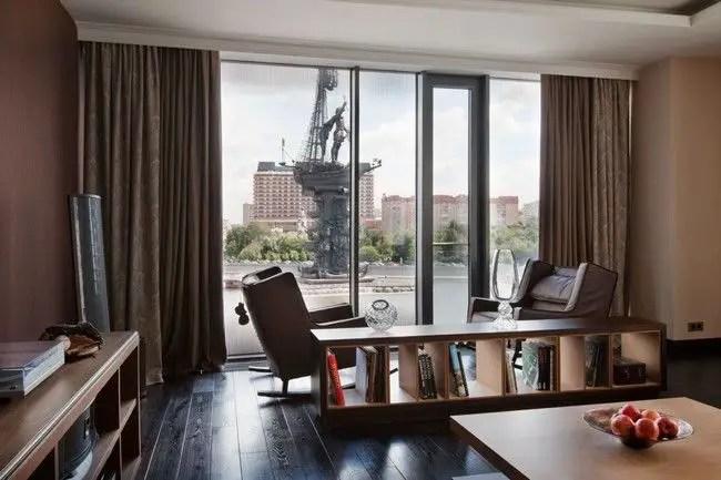 Elegant Contemporary Living Room 6