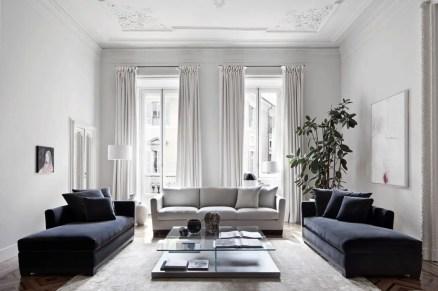 Elegant Contemporary Living Room 79