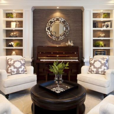 Elegant Contemporary Living Room 85