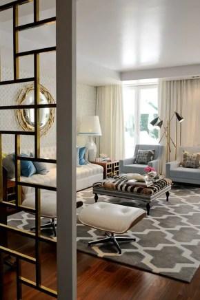Elegant Contemporary Living Room 89