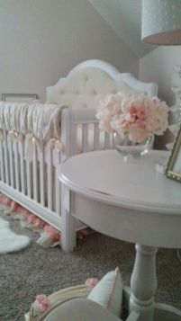 Pink White And Gold Bedroom 107