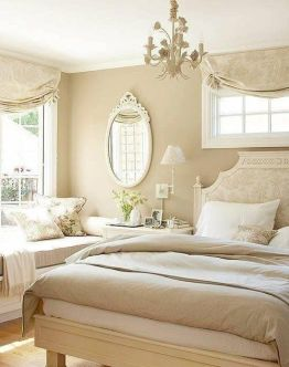 Pink White And Gold Bedroom 55