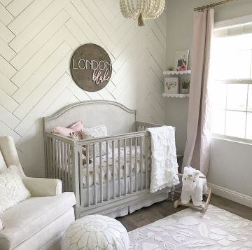 Pink White And Gold Bedroom 75