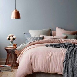 Pink White And Gold Bedroom 80