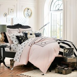 Pink White And Gold Bedroom 99
