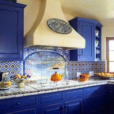 Spanish Mission Style Kitchen 17