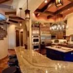 Spanish Mission Style Kitchen 21