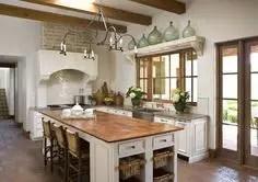 Spanish Mission Style Kitchen 29